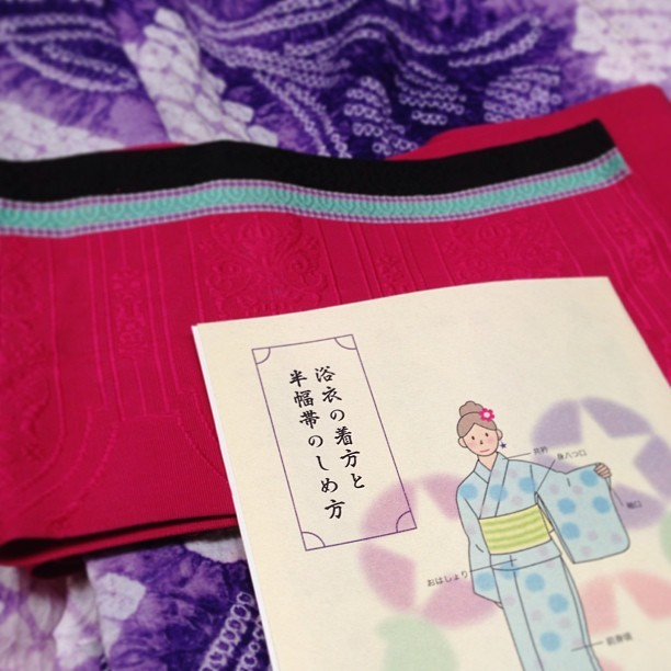 着物ワークショップ「浴衣を着こなす夏」開催します!