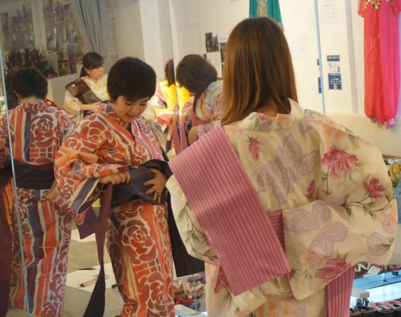 【天狼院✕shAIRコラボ】浴衣ワークショップ 浴衣で花火大会へ出掛けよう!