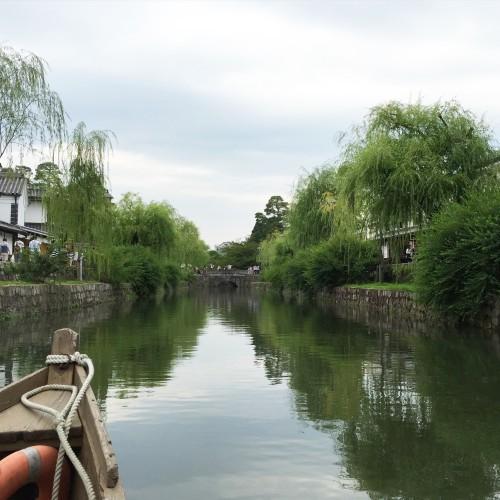 倉敷美観地区を散策 風情ある川舟流しを愉しむ