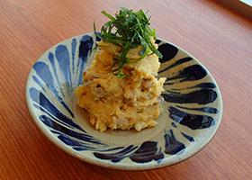 NHKラジオのお料理レシピ。さそう直伝「谷中しょうが入り和風ポテトサラダ」