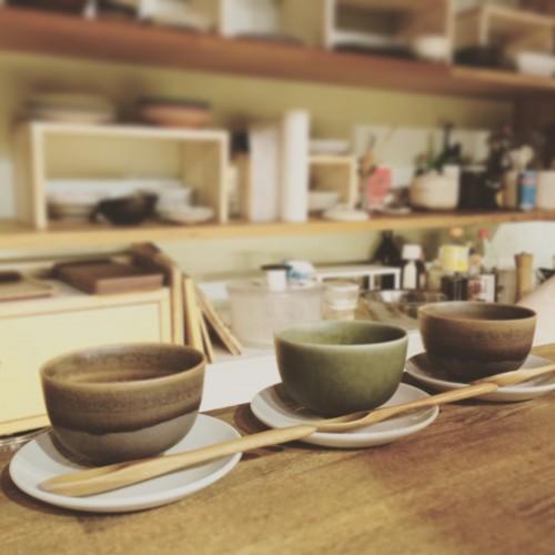 赤坂の隠れ家「食・酒・音 箱庭」で、さそう季節のお料理教室打ち合わせ
