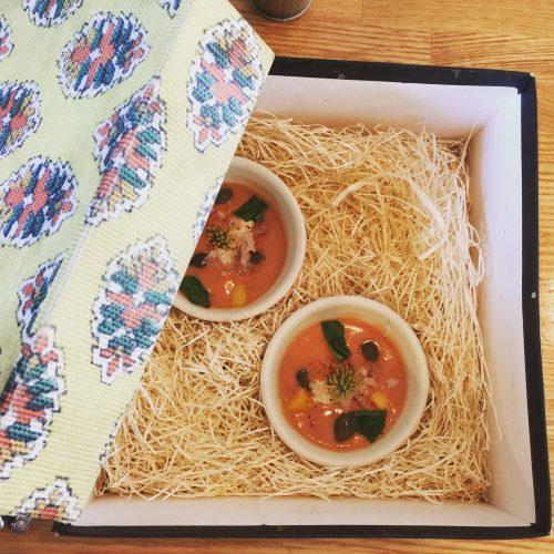 神宮前「kiki」ときめきと驚きと味わいと フルーツたっぷりのフランス料理と日本食のマリアージュ