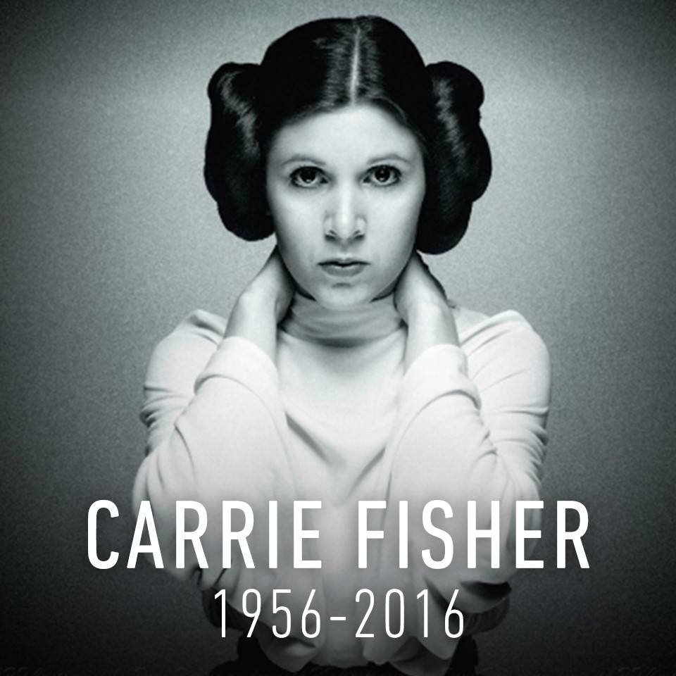 May CARRIE FISHER's soul rest in peace.