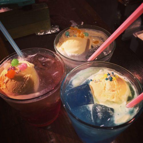 おしゃれなクリームソーダ!美味でした!