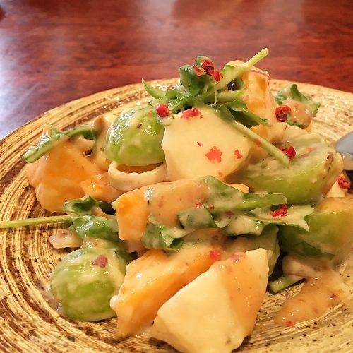 旬のフルーツのサラダ仕立て