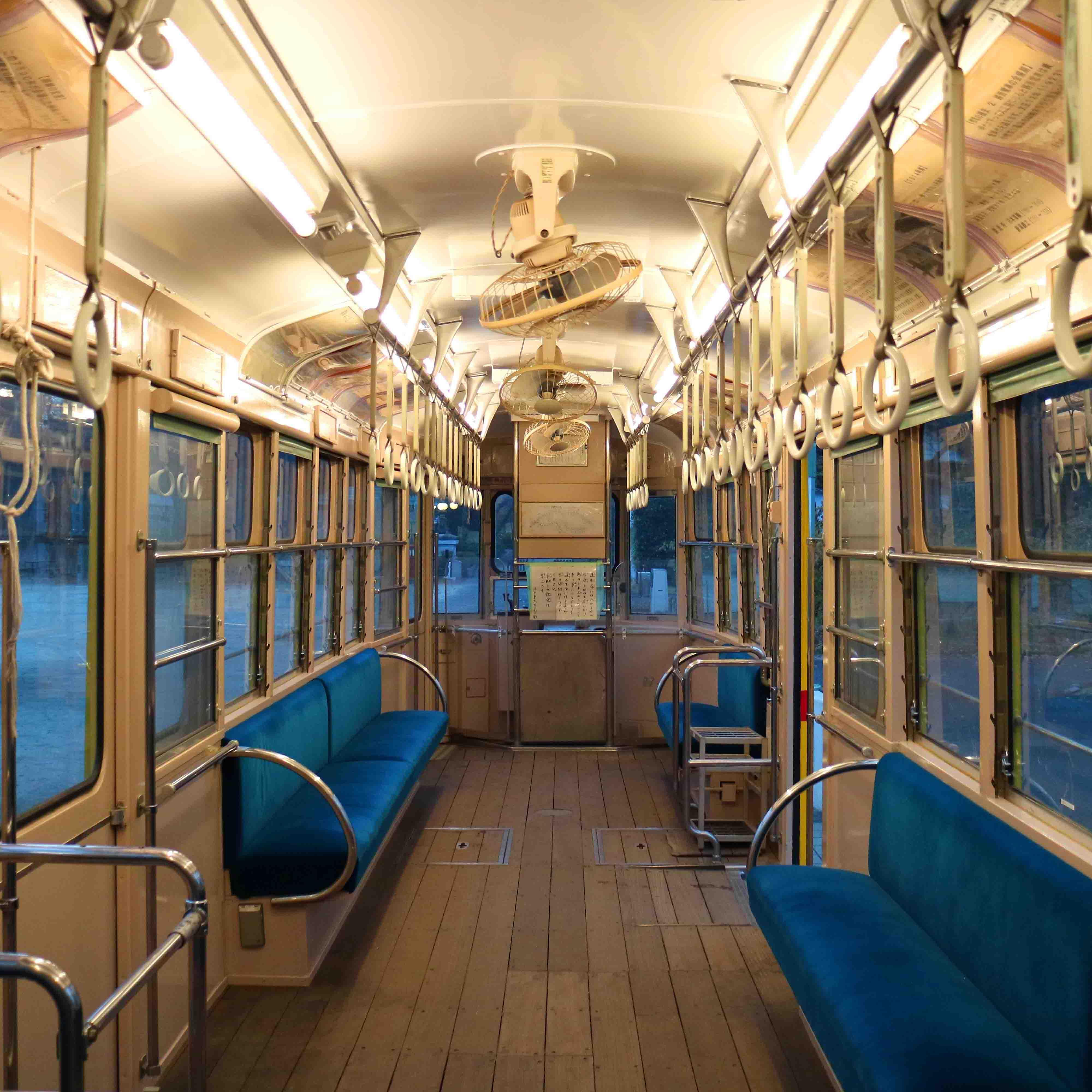 江戸東京たてもの園内の電車