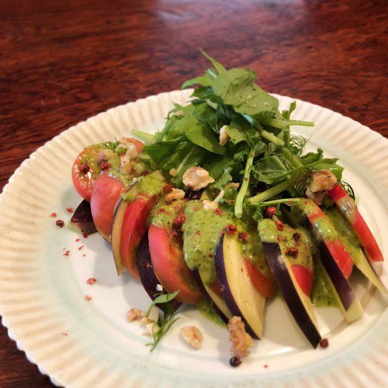 旬の野菜のカルパッチョ