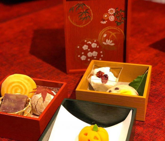 遊山箱に、和菓子詰めて♫