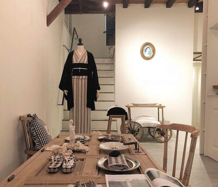 神楽坂に生まれた女の子のおうち「DOUBLE MAISON」 着物と洋服の垣根を自由にするお店