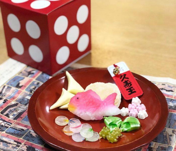 お手抜き抹茶ラテのすすめ ( & 年末年始の可愛い和菓子紹介♫)