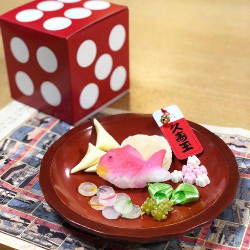 金沢の老舗和菓子店「落雁 諸江屋」の「金沢夢菓子 久寿玉」
