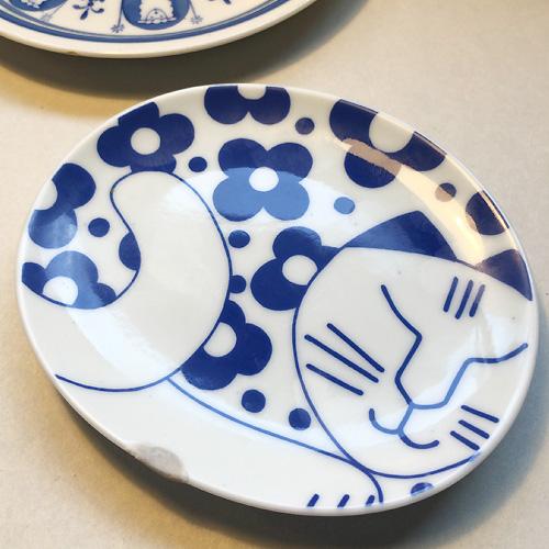 リサラーソンの猫 有田焼豆皿